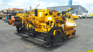 used heavy equipment for sale asphalt paving road construction