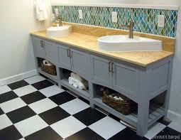 Shaker Style Vanities A Mirror In A Bathroom Reality Daydream