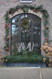 Outdoor Christmas Garland by 60 Best Winter Planters Images On Pinterest Christmas Urns