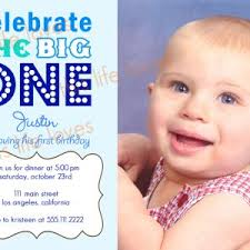 blue winnie the pooh and bee birthday invitation for baby boy with