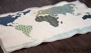 map quilt map quilt home sewn series shwin and shwin
