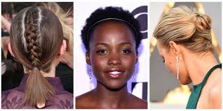 12 easy updos for short hair best short updo hairstyles to try
