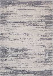 Modern Grey Rug Williston Forge Distressed Modern Abstract Gray Area