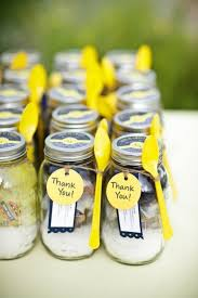 jar party favors rustic wedding favors jars