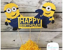 minions centerpieces minions despicable me birthday party centerpieces minions