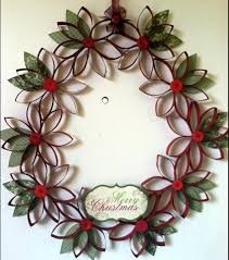 toilet paper wreath ornaments money saving