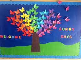 Ideas For Christmas Tree Bulletin Board by Best 25 Tree Bulletin Boards Ideas On Pinterest Spring Bulletin