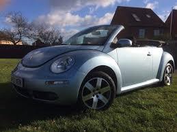 2007 volkswagen vw beetle 1 6 102ps luna cabriolet convertible