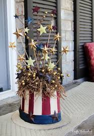 Memorial Day Decor Diy Patriotic Crafts And Decorations For 4th Of July Or Memorial