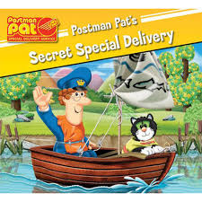postman pats secret special delivery postman pat books works