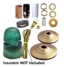 glass insulator light kit l kits for glass bottles katy elliott