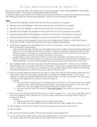 100 great gatsby short answer study guide questions the