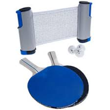 portable ping pong table table tennis to go portable ping pong set lets you play on any
