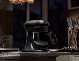 Kitchenaid Black Tie Mixer | kitchenaid artisan black tie mixer gadget flow