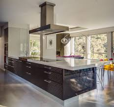 pedini cabinets kitchen modern with views round mosaic backsplash