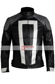 leather riding jackets for sale agent of shield ghost rider jacket robbie reyes leather jacket