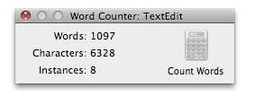 How To Count Words In Textedit In Mac Os X Word Counter