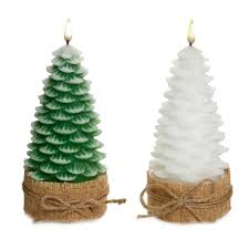 christmas tree candle assorted colour 19cm christmas 9 99