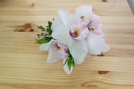 orchid corsage cymbidium orchid corsage specify orchid and ribbon color in