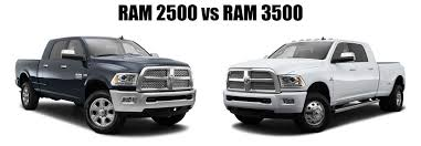 ram 2500 ram 3500 difference hodge dodge reviews specials and deals