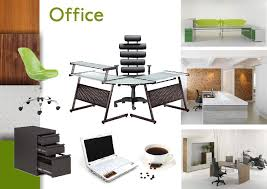Interior Design Material Board by Contemporary Office Space Sampleboard