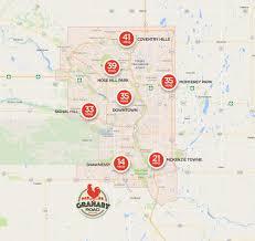 Calgary Map Location U0026 Directions U2014 Granary Road