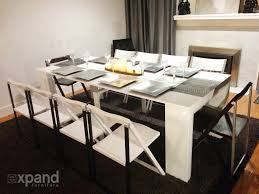the junior giant console extending table expand furniture youtube
