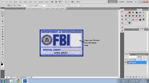 fbi id template supernatural fbi badge carl granville plastic id