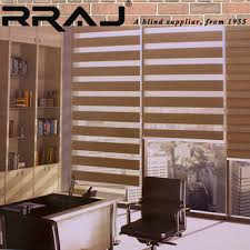 Dual Day And Night Roller Blinds Rraj Double Day And Night Roller Blind Shades Zebra Blinds Price