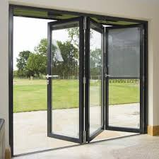 Patio Glass Doors Attractive Accordion Glass Doors Patio With Compare 17 Average
