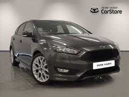 ford focus diesel used 2017 ford focus diesel hatchback 1 5 tdci 120 st line 5dr for