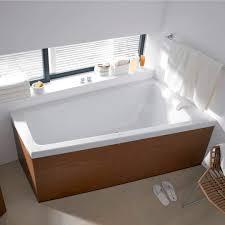 built in bathtub corner acrylic 700218 700219 by eoos duravit