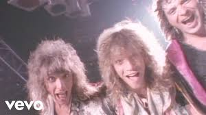 bon jovi you give love a bad name youtube