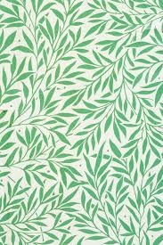 William Morris Wallpaper by Wallpaper Detail Adapted From William Morris U0027s Willow Design For