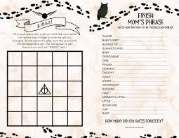 Download Baby Shower Games Harry Potter Baby Shower Ideas U0026 Free Printables Our Handcrafted Life