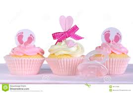 its a baby shower cupcakes stock photo image 57045597