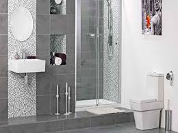 grey tiled bathroom ideas bathroom modern wall yellow pictures tiled white small