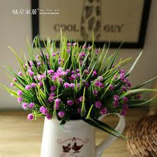 online get cheap artificial plastic flower bouquets aliexpress