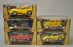 toy ferrari model cars five bburago gold collection 1 18 scale diecast model cars