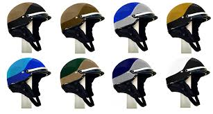 custom paint color 1 2 shell two color motorcycle helmet police equipment worldwide