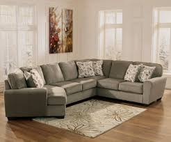 Ashley Furniture Patina 4 Piece Small Sectional With Right Cuddler