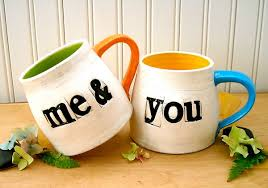 His Hers Mugs Valentine U0027s Day Cute Mugs For Cute Couples Etsy Cool Finds Mom