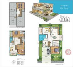 Antilla Floor Plan by Uotkw267 Sq Yds West Facing Jpg