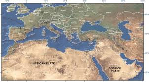 Map Of The Mediterranean Mesozoic And Cenozoic Carbonate Systems Of The Mediterranean And