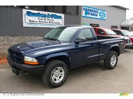 2002 dodge dakota for sale 2003 dodge dakota sxt regular cab 4x4 in patriot blue pearl photo