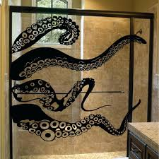 octopus decor wall decor 115 large size kraken octopus tentacles vinyl wall