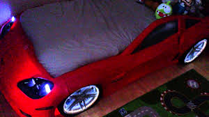 step2 corvette toddler to bed with lights modified corvette car bed
