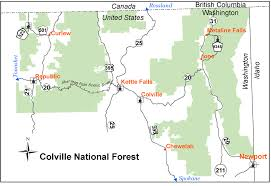 Wildfire Map National by Colville National Forest Home