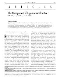 Downsizing Meaning The Management Of Organizational Justice Pdf Download Available