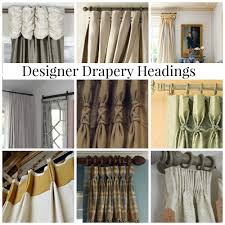 Textured Cotton Tie Top Drape by The Difference Between Drapes And Curtains